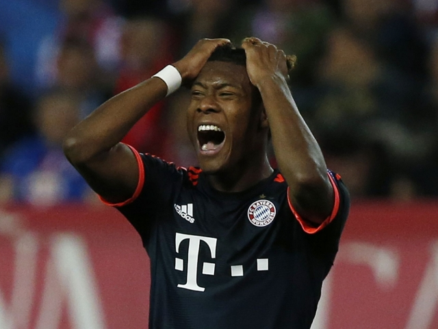 Alaba wants to be a midfielder in Barca