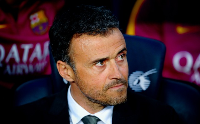 Luis Enrique: 'Although the stake Barca will not flinch.'