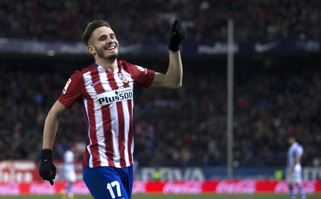 Saul renewed his contract with Atletico until 2021