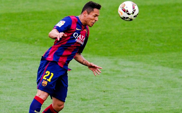Lazio is negotiating with Barca for Adriano