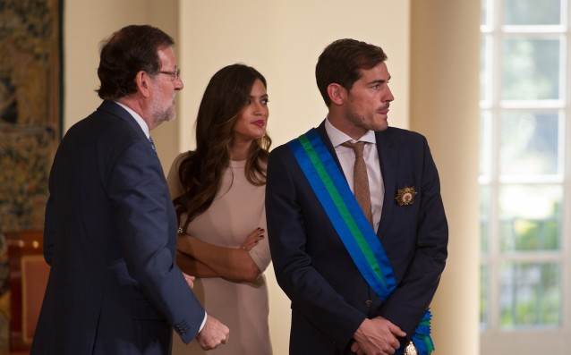 Sara and Lucas were discharged and Casillas welcomed them