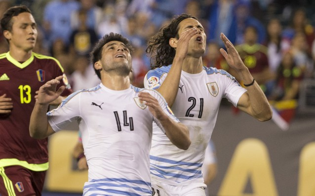 Uruguay slipped quickly from Copa America