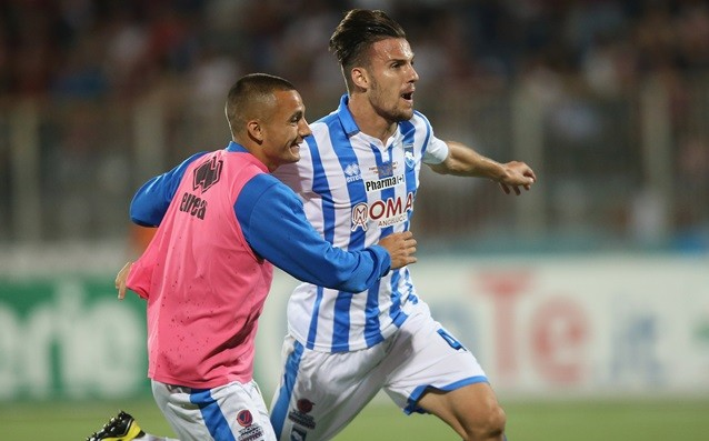 Pescara entered Serie A