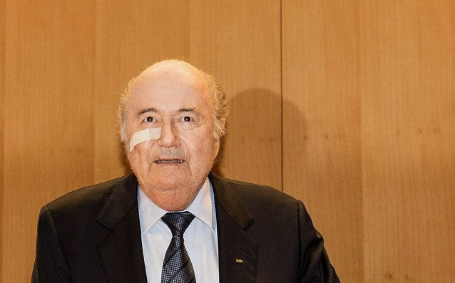 Blatter: 'UEFA uses hot and cold balls in the lots.'