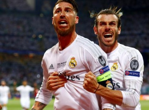Ramos is again the best player in the finals of the Champions League