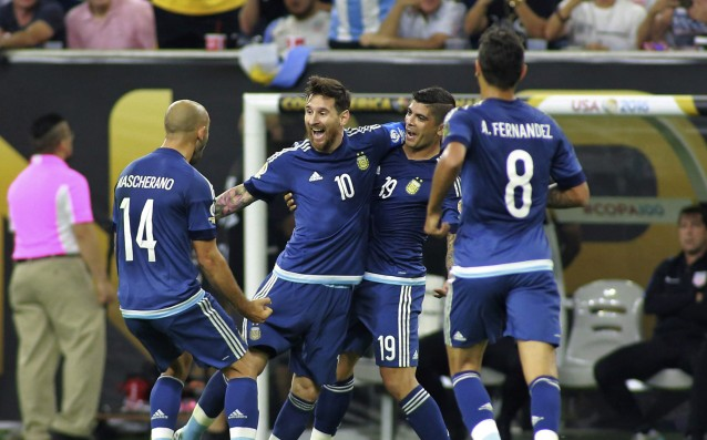 Argentina qualified for the final of Copa America