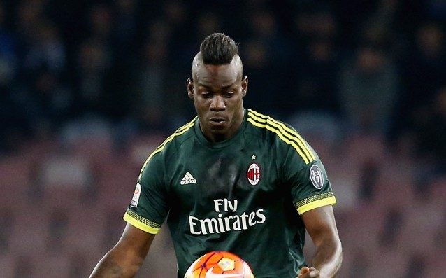 Balotelli is replacing Cassano at Sampdoria