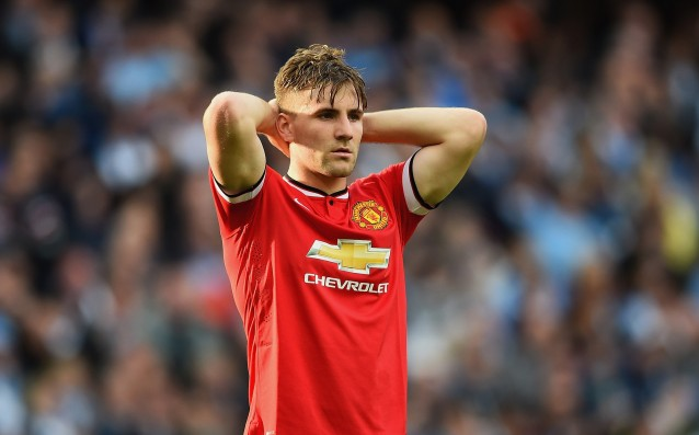 Luke Shaw is back to practice