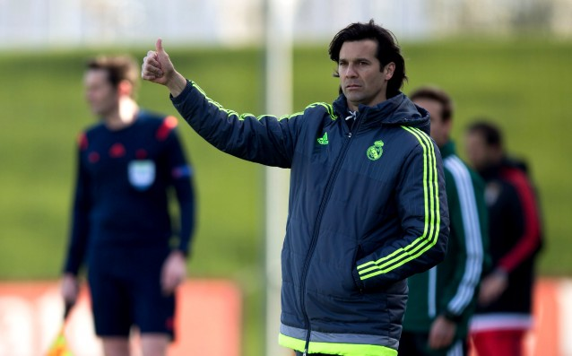 Solari took over the second team of Real Madrid