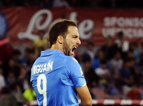 Higuain: 'I want to win the Champions League with Juve.'