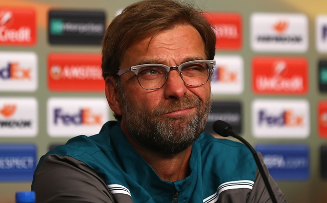 Klopp: 'I have no idea about our lineup in the match against Arsenal.'