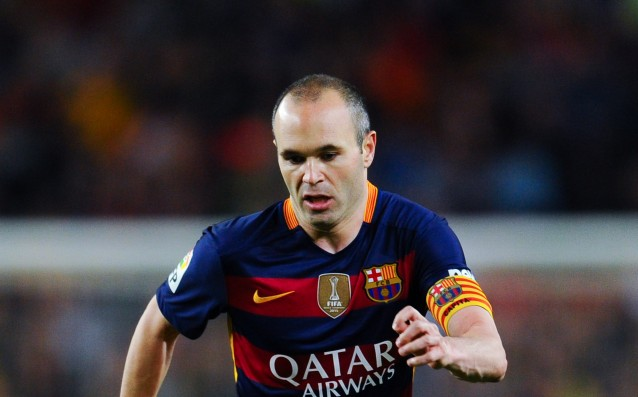 Iniesta is disagreeing with UEFA's choice for 'best player'
