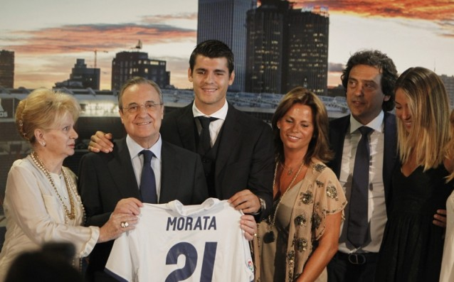 Morata is very happy to be back to Real Madrid