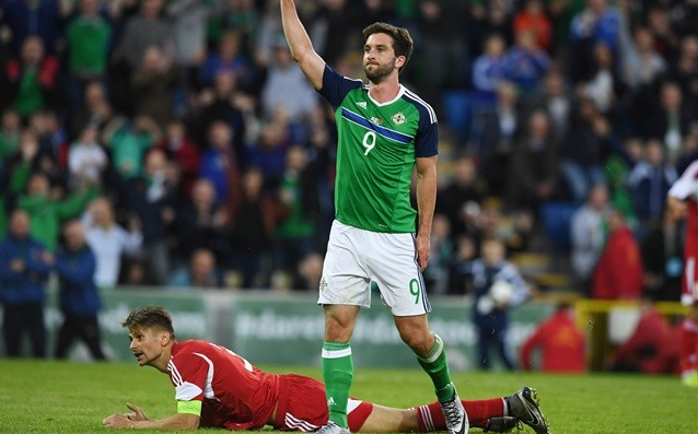 Will Grigg will be outside of the Northern Ireland team for the world qualifications