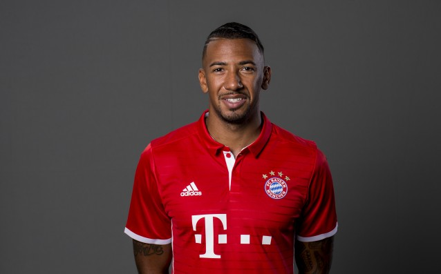 Boateng continued to heal the injury