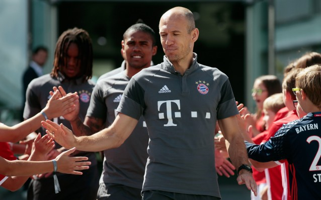 Robben returned to the pitch after 7 weeks break