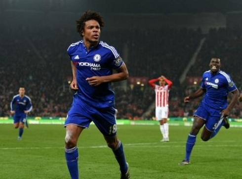 Loic Remy has returned to Chelsea to heal an injury