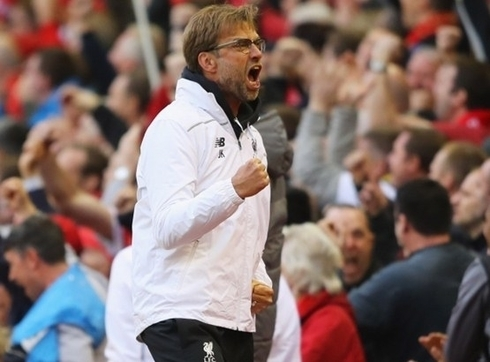 Klopp: 'Now Anfield will give us even greater power.'