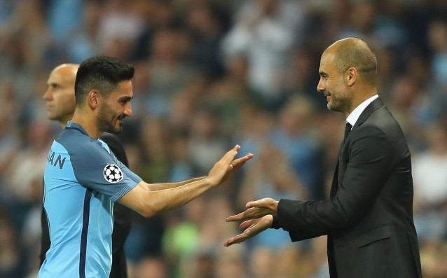 Guardiola: 'The players have made me happy.'
