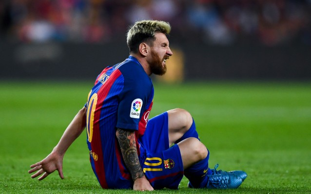 Messi does not take care of himself