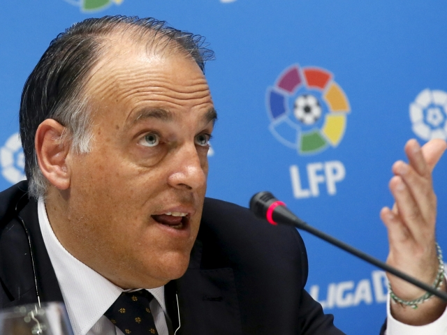 Tebas remained the President of La Liga