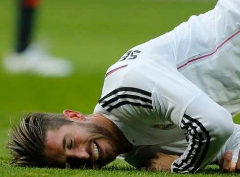 Real Madrid lost Ramos for a month