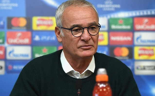 Ranieri: 'The Premier League is the priority for us.'