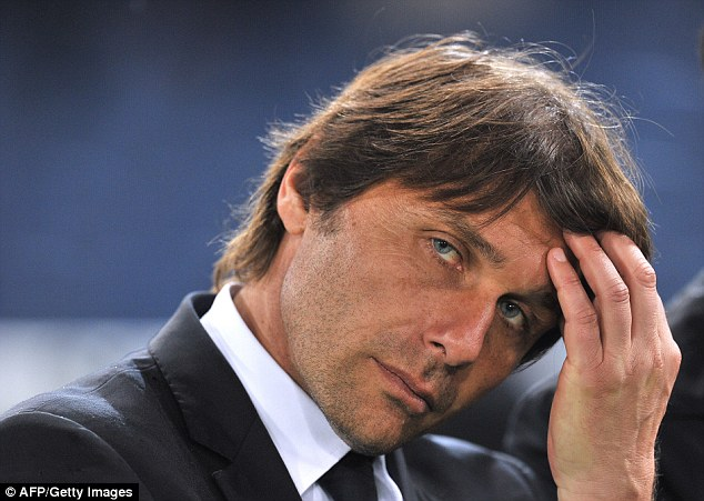 Conte complained of a lack of luck of his team
