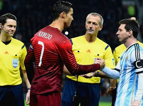 Ronaldo: 'Messi is not my friend.'