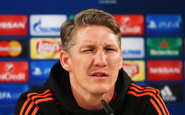 Scweinsteiger will not even play for the doubling team of United