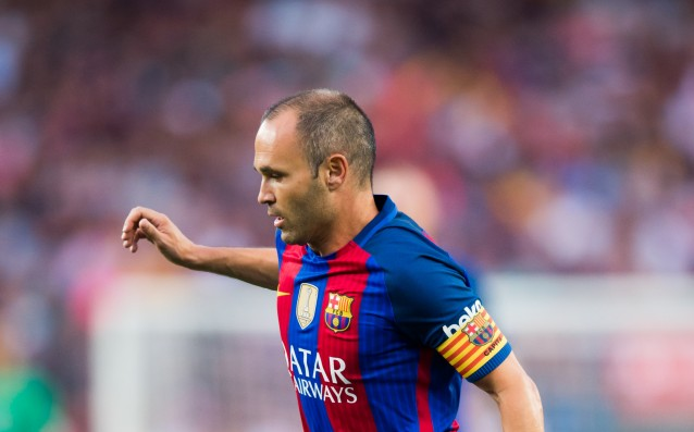 Iniesta expressed optimism after the injury