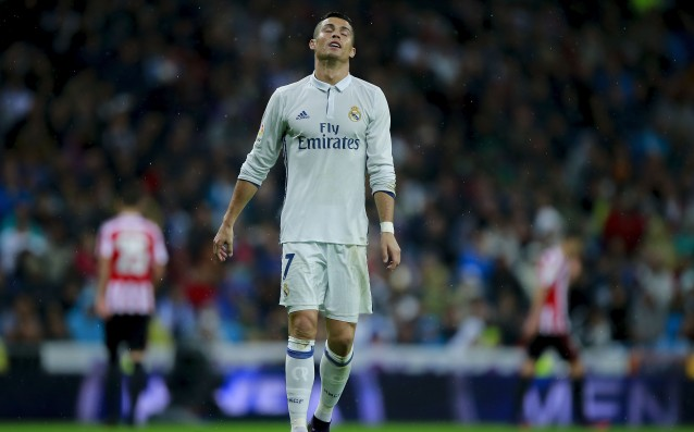 Ronaldo is almost two months without a goal at the Bernabeu