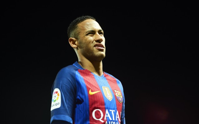 Neymar is questionable for the El Clasico