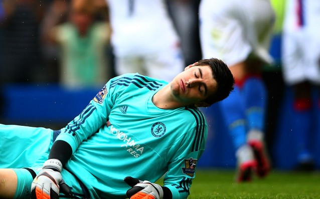 Courtois: 'I have no vision problems.'