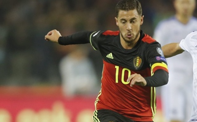 Hazard with an injury after the defeat over Estonia