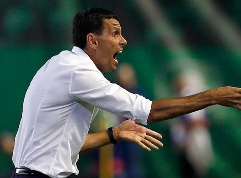 Sanchez Del Amo replaced Gustavo Poyet at Betis