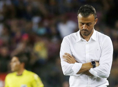 Luis Enrique may leave Barca after the end of the season