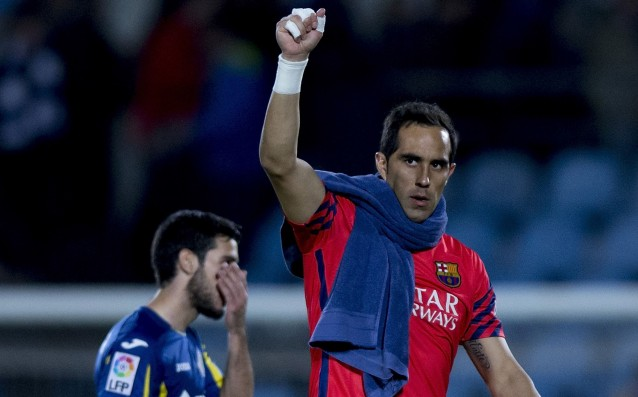 Bravo: 'The stress at Barca is much greater than the stress at City.'