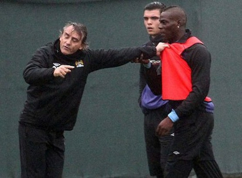 Balotelli: 'Mancini is the most clever of all the coaches I have worked with.'