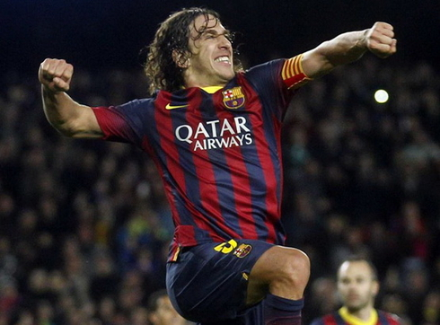 Puyol: 'If I had the chance, I was going to wear the t-shirt of Milan.'