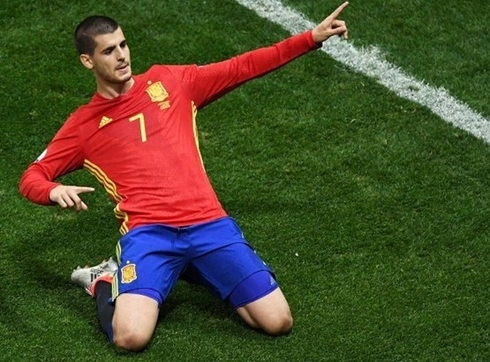 Real blamed the medical staff of Spain for the injury of Morata