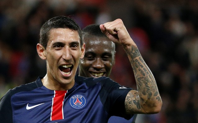 Di Maria is questionable for the match against Arsenal