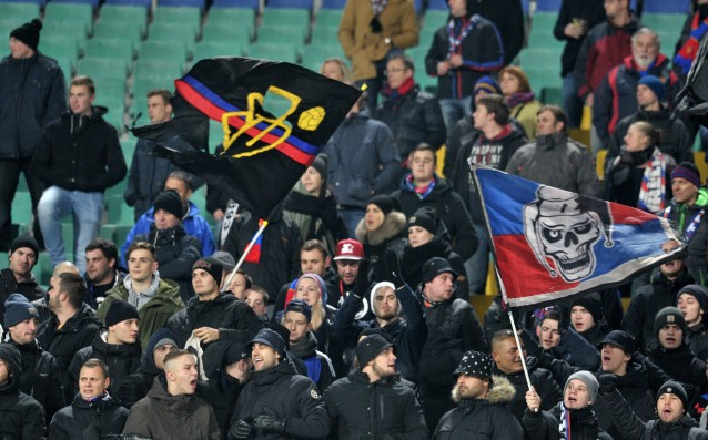 Levski fans fought with those of Basel