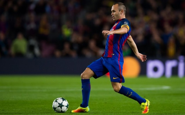 Andres Iniesta is already training individually