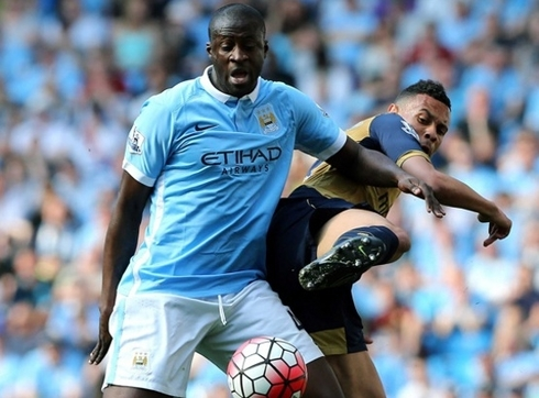 Yaya Toure: 'United remains among the contenders for the title.'