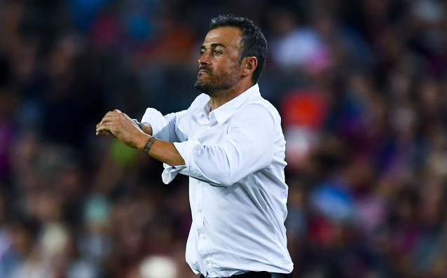 Luis Enrique to the players: 'We must wake up.'