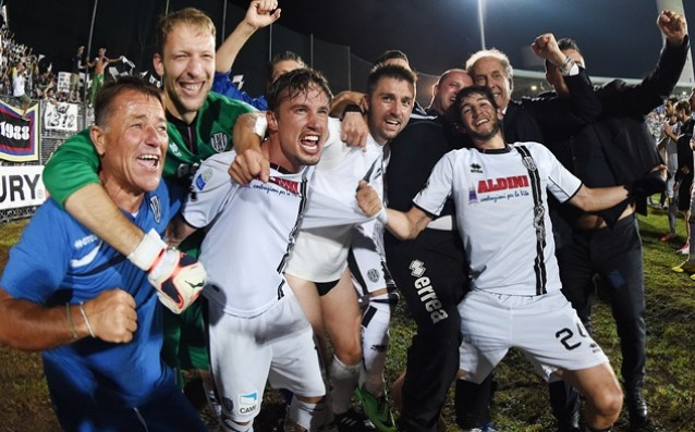 Cesena threw an elite team from the battle of the Cup of Italy