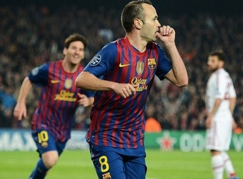 Good news for Barca: Iniesta will play in El Clasico.