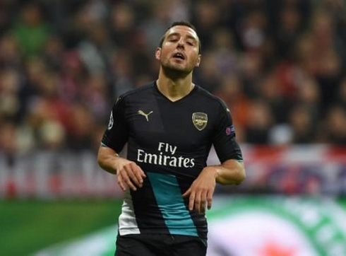 Santi Cazorla will be out for 3 months