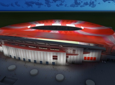 Atletico Madrid postponed moving to the new stadium